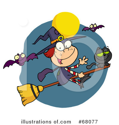 Witch Clipart #68077 by Hit Toon