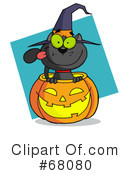Royalty-Free (RF) Halloween Clipart Illustration #68080