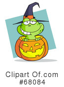Royalty-Free (RF) Halloween Clipart Illustration #68084