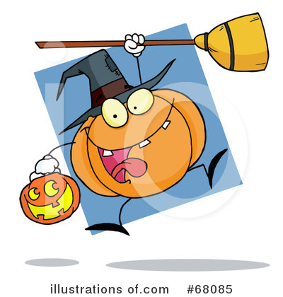 Pumpkin Clipart #68085 by Hit Toon