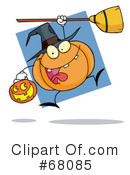Royalty-Free (RF) Halloween Clipart Illustration #68085