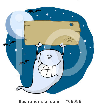 Ghost Clipart #68088 by Hit Toon