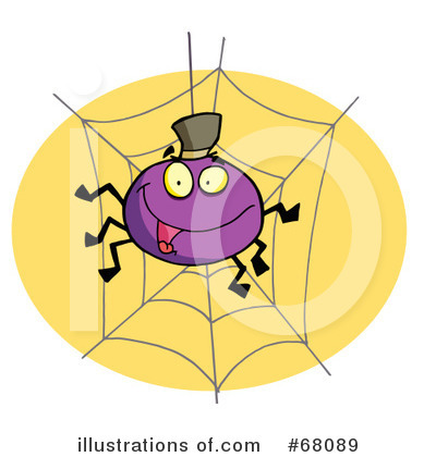 Spider Clipart #68089 by Hit Toon