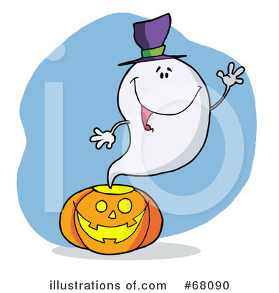 Ghost Clipart #68090 by Hit Toon