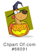 Royalty-Free (RF) Halloween Clipart Illustration #68091