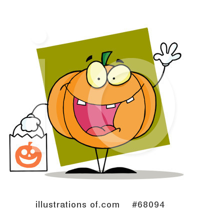 Jackolantern Clipart #68094 by Hit Toon