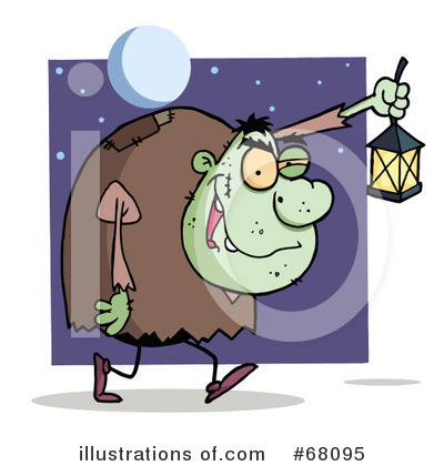 Monster Clipart #68095 by Hit Toon