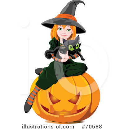 Witch Clipart #70588 by Pushkin