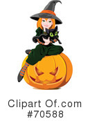 Royalty-Free (RF) Halloween Clipart Illustration #70588