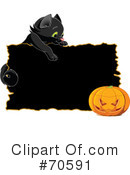 Royalty-Free (RF) Halloween Clipart Illustration #70591