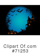 Royalty-Free (RF) Halloween Clipart Illustration #71253