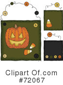 Halloween Clipart #72067 by inkgraphics