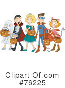 Royalty-Free (RF) Halloween Clipart Illustration #76225