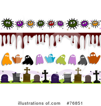 Royalty-Free (RF) Halloween Clipart Illustration by BNP Design Studio - Stock Sample #76851