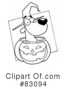 Halloween Clipart #83094 by Hit Toon