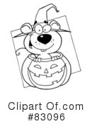 Halloween Clipart #83096 by Hit Toon