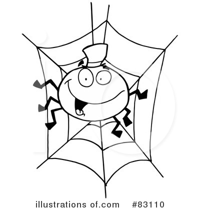 Spider Clipart #83110 by Hit Toon