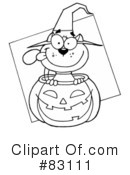 Halloween Clipart #83111 by Hit Toon