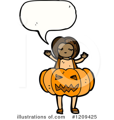 Jack-O-Lantern Clipart #1209425 by lineartestpilot