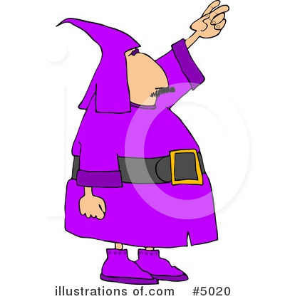 Wizard Clipart #5020 by djart