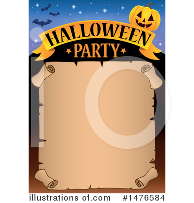 Halloween Party Clipart #1476584 by visekart