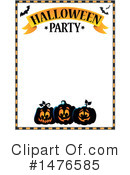 Royalty-Free (RF) Halloween Party Clipart Illustration #1476585