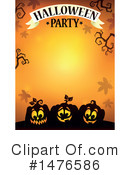 Royalty-Free (RF) Halloween Party Clipart Illustration #1476586