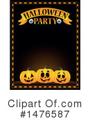 Royalty-Free (RF) Halloween Party Clipart Illustration #1476587