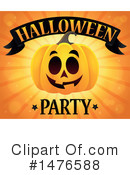 Royalty-Free (RF) Halloween Party Clipart Illustration #1476588
