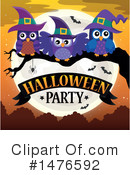 Royalty-Free (RF) Halloween Party Clipart Illustration #1476592