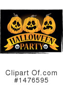 Royalty-Free (RF) Halloween Party Clipart Illustration #1476595