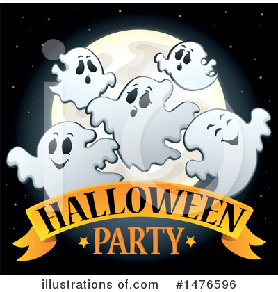 Halloween Party Clipart #1476596 by visekart