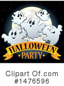 Royalty-Free (RF) Halloween Party Clipart Illustration #1476596