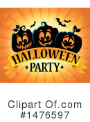 Royalty-Free (RF) Halloween Party Clipart Illustration #1476597