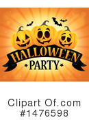Royalty-Free (RF) Halloween Party Clipart Illustration #1476598