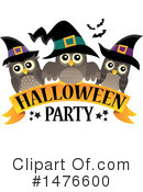 Royalty-Free (RF) Halloween Party Clipart Illustration #1476600