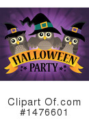 Royalty-Free (RF) Halloween Party Clipart Illustration #1476601