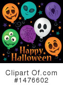 Halloween Party Clipart #1476602 by visekart
