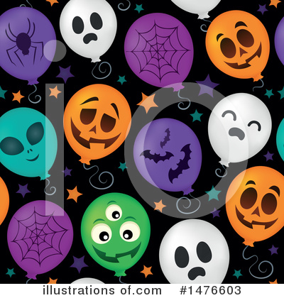 Halloween Party Clipart #1476603 by visekart