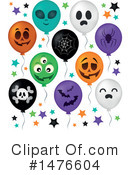 Halloween Party Clipart #1476604 by visekart