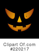 Halloween Pumpkin Clipart #220217
