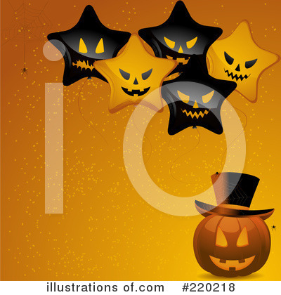 Halloween Pumpkin Clipart #220218 by elaineitalia