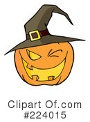 Halloween Pumpkin Clipart #224015 by Hit Toon