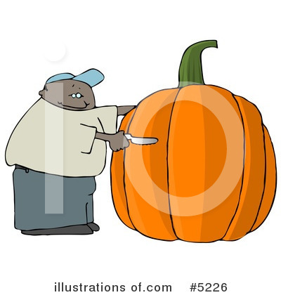 Pumpkin Clipart #5226 by djart