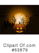 Royalty-Free (RF) halloween pumpkin Clipart Illustration #63879