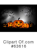 Halloween Pumpkins Clipart #63616 by KJ Pargeter