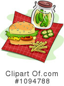 Hamburger Clipart #1094788