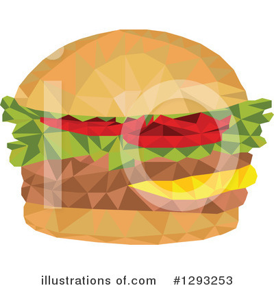 Burger Clipart #1293253 by patrimonio