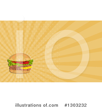 Burger Clipart #1303232 by patrimonio