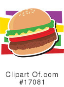 Hamburger Clipart #17081